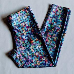 Modcloth capri leggings multicolor